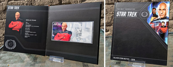 Star Trek: The Next Generation Silver Coin Note Collection