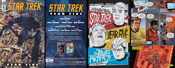 IDW Publishing's Star Trek: Year Five #5