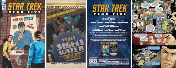 Star Trek: Year Five #4 Preview
