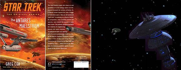 Star Trek: The Original Series: The Antares Maelstrom Book Review
