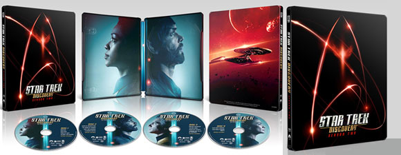 Star Trek: Discovery Season Two Steelbook Release