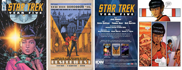 Star Trek: Year Five #6 Comic