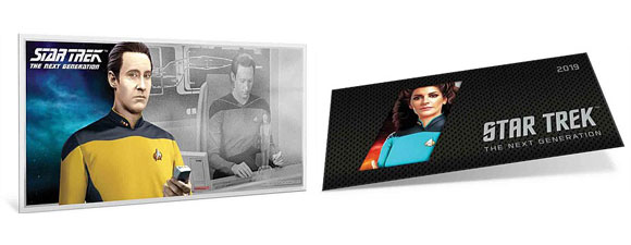 Two New Star Trek: The Next Generation Silver Coin Notes