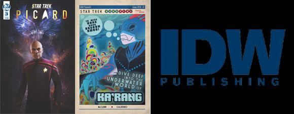 January 2020 IDW Publishing Star Trek Comics