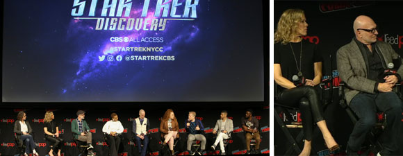 Full NYCC Star Trek Universe Panel