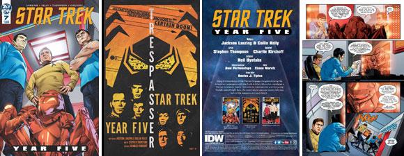 Star Trek: Year Five #7 Comic