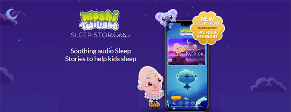 Stewart Narrates Sleep Audio App