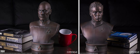 New Picard And Pike Busts From Chronicle Collectibles