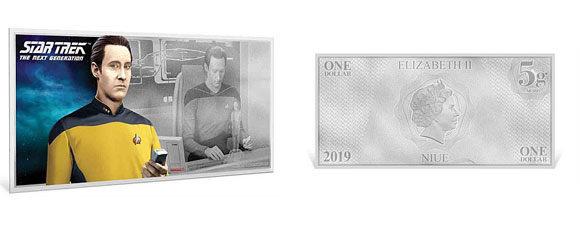Three More The Next Generation Silver Coin Notes