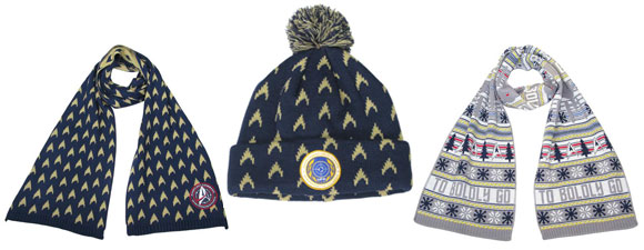 New Trek-Themed Scarves and Hats