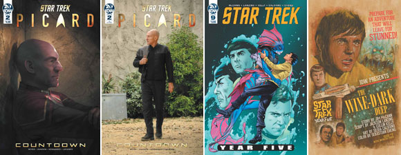 Two New Star Trek Comics Debut This Week