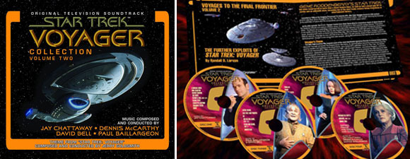New Star Trek: Voyager Collection From La-La Land Records