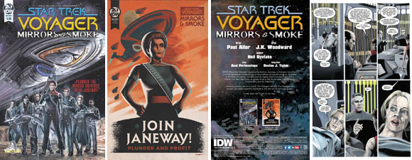 Star Trek: Voyager: Mirrors & Smoke #1