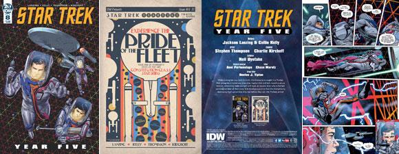 Star Trek: Year Five #8 Comic