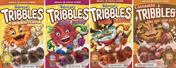 Star Trek Tribbles Cereal Posters