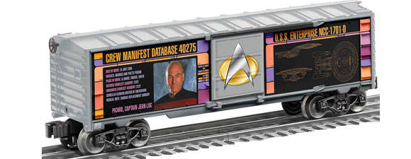 New Star Trek Model Trains From Lionel