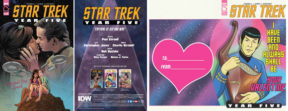 Star Trek: Year Five: Valentine's Day Special Comic