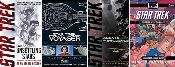 Four Star Trek Book Previews