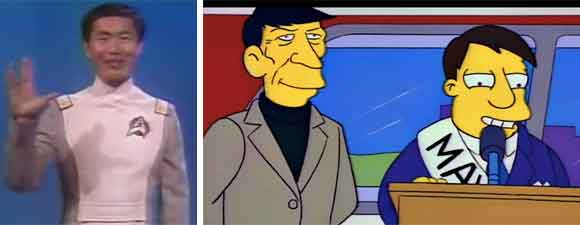 Conan on Takei And The Simpsons