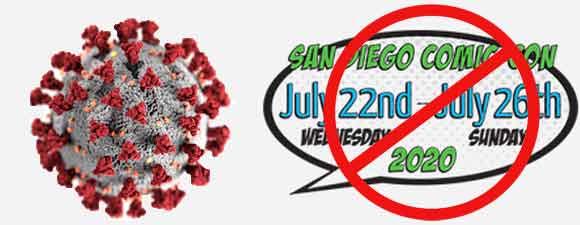 2020 San Diego Comic-Con Cancelled