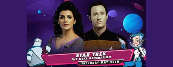 GalaxyCon Live Star Trek: TNG Events