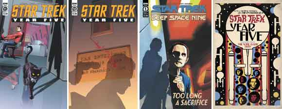 Summer 2020 Star Trek IDW Publishing Comics