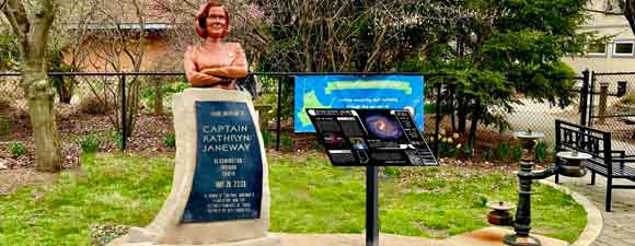 New Date For Captain Janeway Monument Unveiling Announced