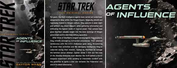 Star Trek: The Original Series: Agents of Influence Book Review
