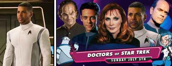 GalaxyCon Doctors Of Star Trek Event Adds Cruz