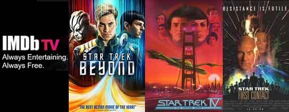 Free Star Trek Films On IMDb TV