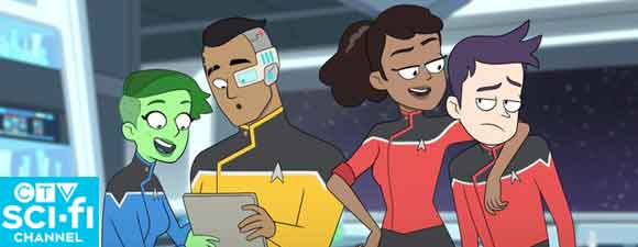 Star Trek: Lower Decks Coming To Canada Later This Year