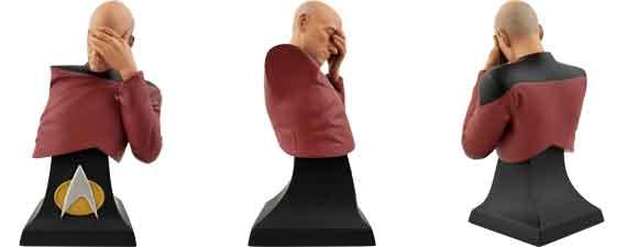 Star Trek: The Next Generation Picard Facepalm Bust