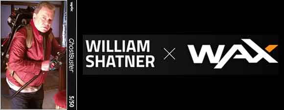 Shatner To Release Digital Memorabilia Via Blockchain