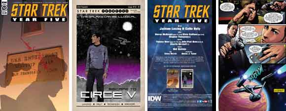Star Trek: Year Five #12 Preview