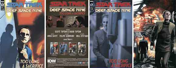 Star Trek: Deep Space Nine: Too Long A Sacrifice #1
