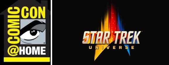 Comic-Con@Home Features Three Trek Panels