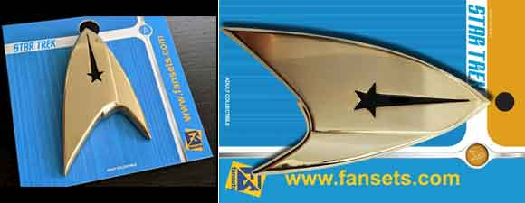 Star Trek: Discovery Command Delta Full Size Pin