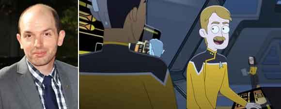 Scheer Joins Star Trek: Lower Decks