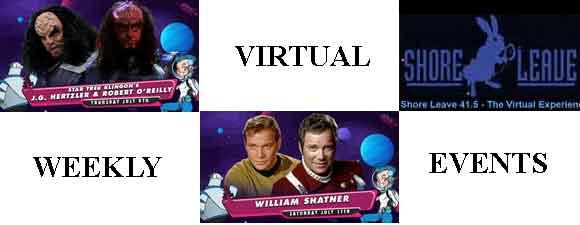 This Week's Virtual Trek Events