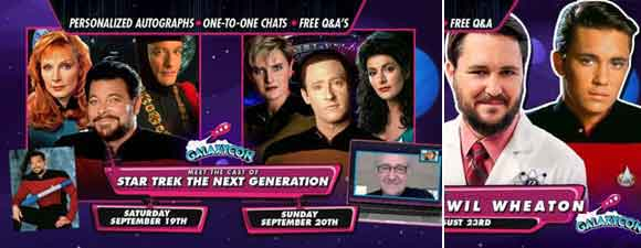 Upcoming GalaxyCon Events