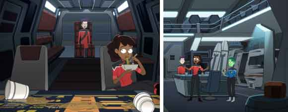 New Images From Star Trek: Lower Decks: Envoys