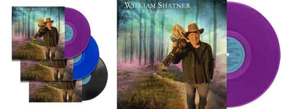 Details On William Shatner's New Blues Album