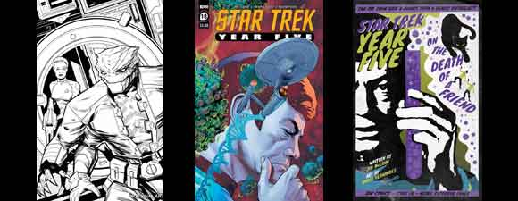 IDW Publishing Trek Comics For December