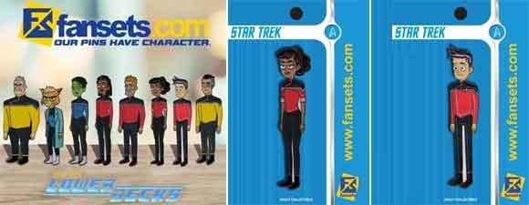 FanSets Star Trek: Lower Decks Pins