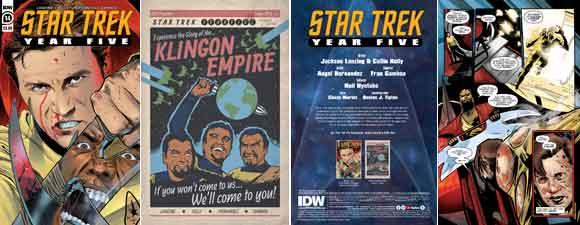 Star Trek: Year Five #14 Preview