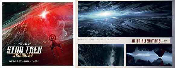 The Art Of Star Trek: Discovery Preview Pages