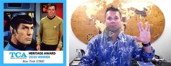 Star Trek Receives TCA Award