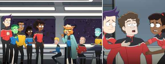 Star Trek: Lower Decks Pictures And News