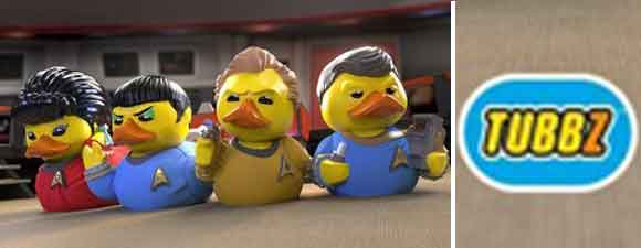 TUBBZ Trek Collectibles Will Quack You Up