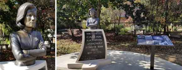 Janeway Statue Unveiled In Bloomington